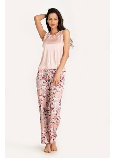 Loya Pijama Takım Pudra